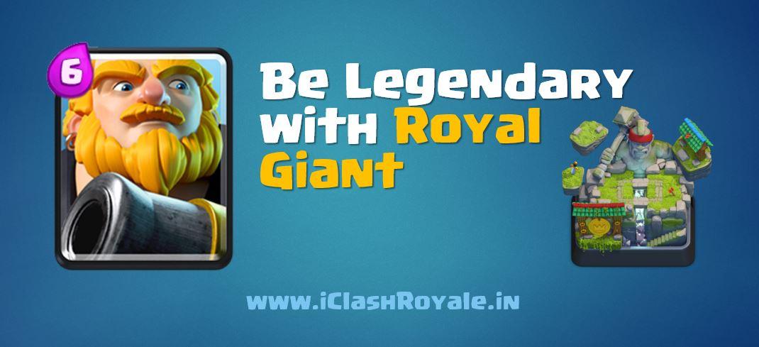 Royal Giant battle deck guide