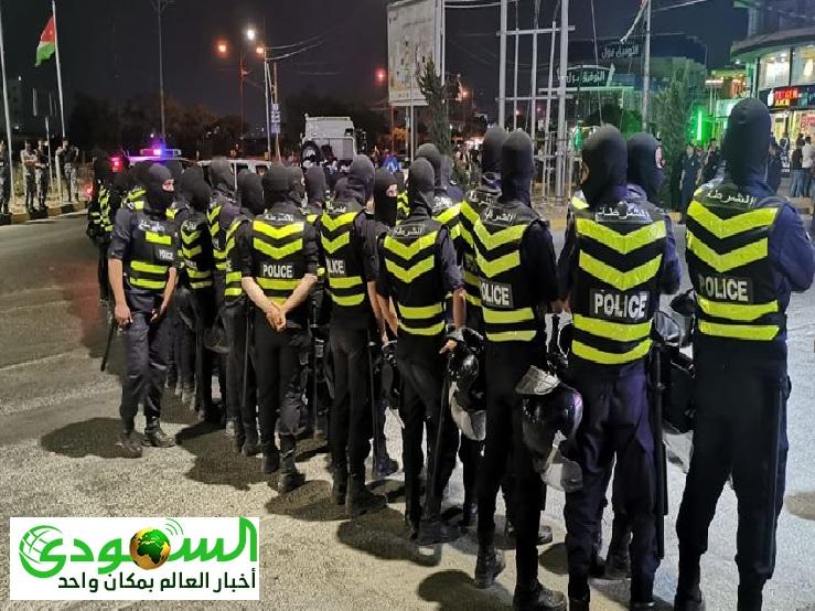 الأردن ضبط 97 مطلوبا من بينهم 5 المصنفين بالخطرين جداً بقضايا الاتاوات وترويع المواطنين
