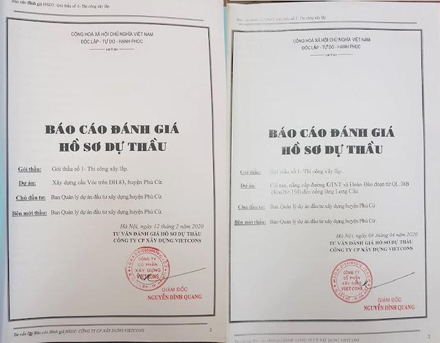 Doanh nghiệp của ông Phạm Văn Ngạn liên tiếp trúng thầu tại Phù Cừ được giàn dựng?