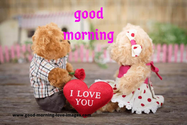 cute good morning i love you images