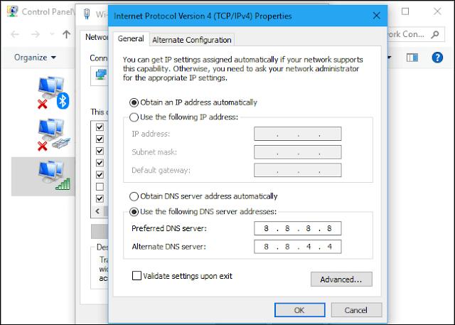 تغيير الاي بي على الكمبيوتر بسهولة شرح مفصل