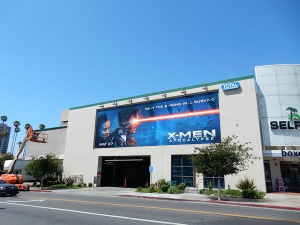 XMen Apocalypse film billboard