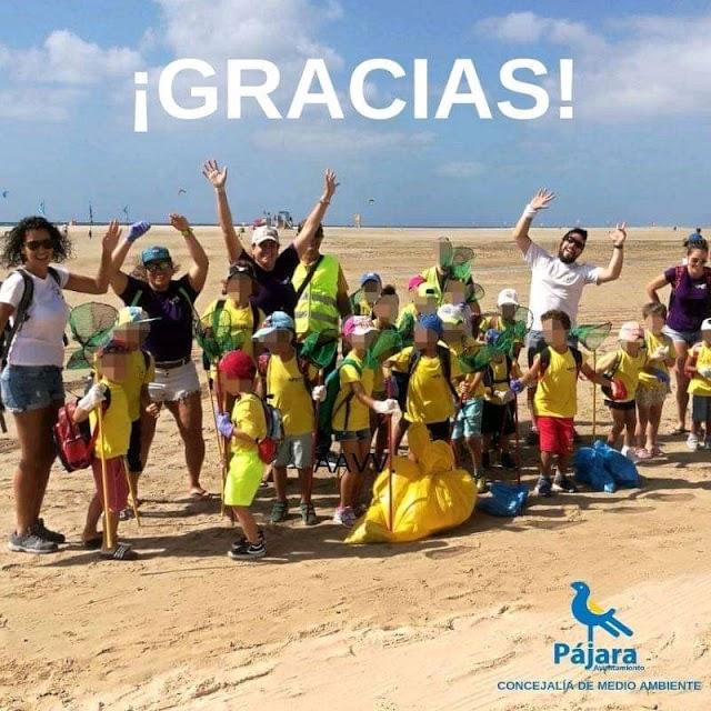 Fuerteventura.- Casi 3.000 personas participan en el programa de Educación ambiental de Pájara