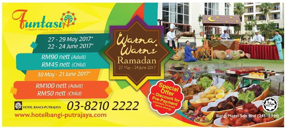 hotel bangi putrajaya buffet ramadhan