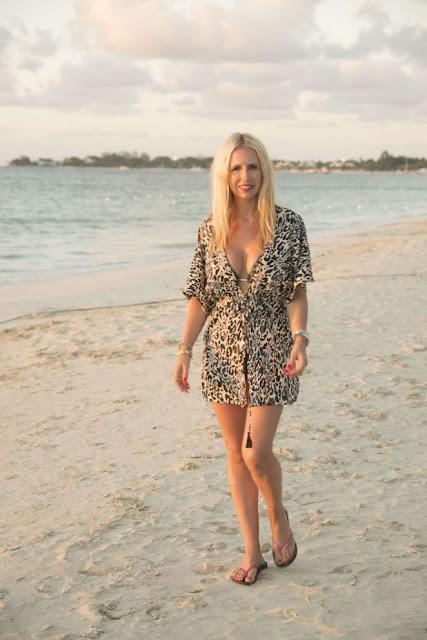 Naomi Isted in Bikini on the beach in Jamaica
