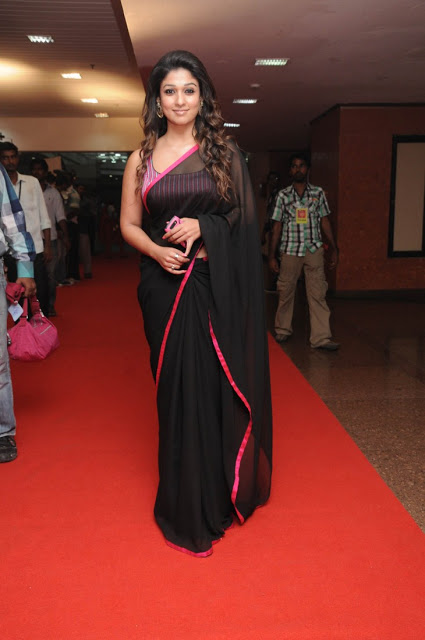 Nayanthara In Black Saree