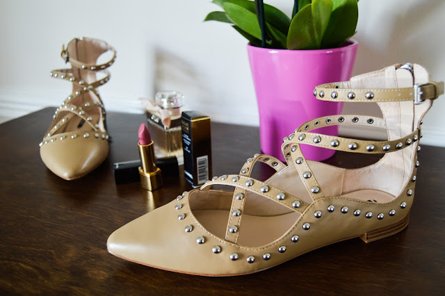 Valentino Rockstud Flats Dupes or Copy from Zara
