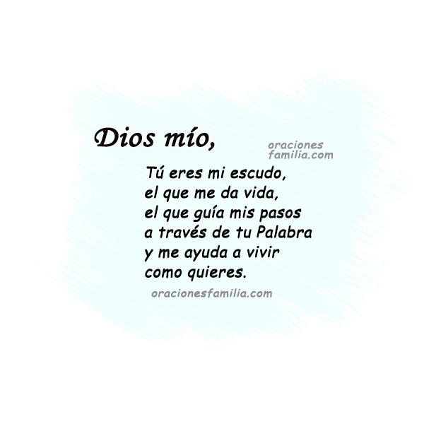 imagen con oracion cristiana de la mañana Dios me ayuda plegaria este dia por <mery bracho