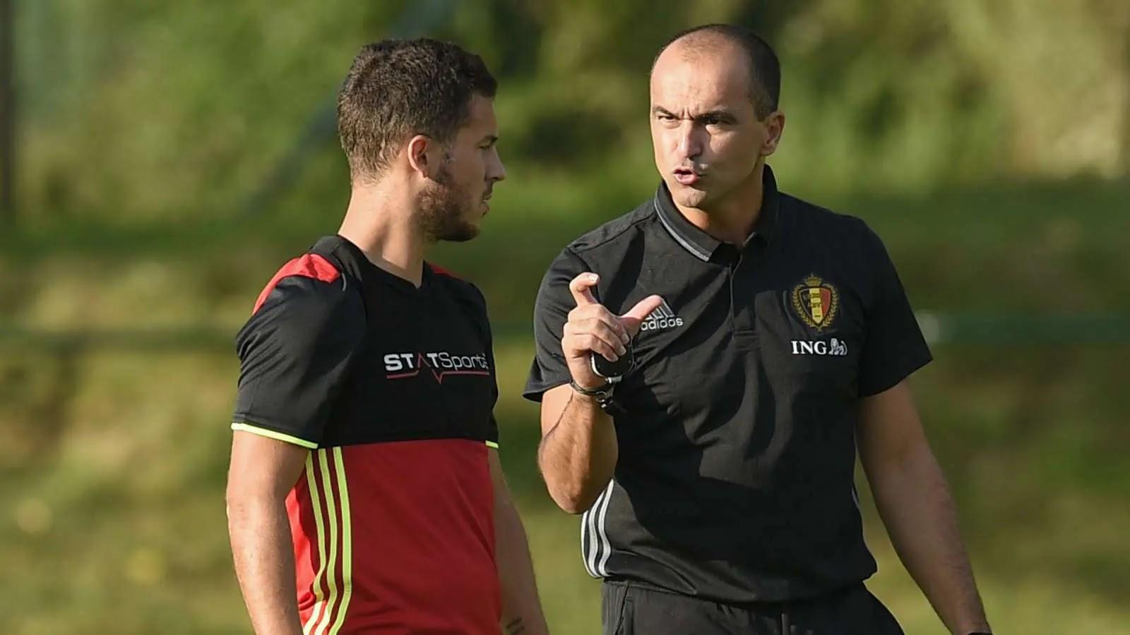 Belgium coach defends Hazard: Bad luck
