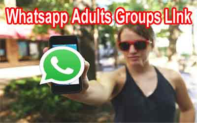 Whatsapp Adults Groups LInk