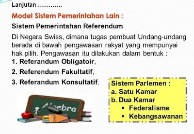 Sisitem pemerintahan referendum adalah variasi dari sistem pemerintahan parlementer dan presidensial