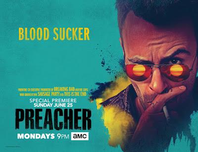 Preacher Season 2 Teaser One Sheet Television Banner - Cassidy