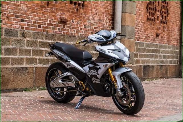 Hasil Modipikasi Tip Modifikasi Yamaha Jupiter MX King Exciter Gaya Balap MOTO GP Sporti Keren Abis