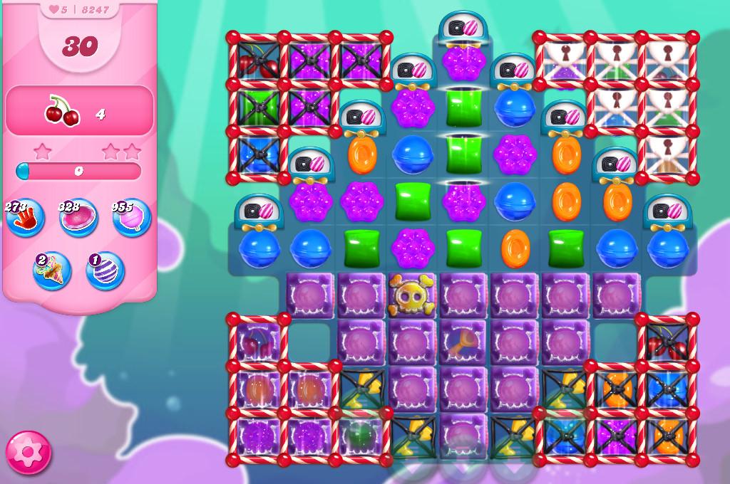 Candy Crush Saga level 8247