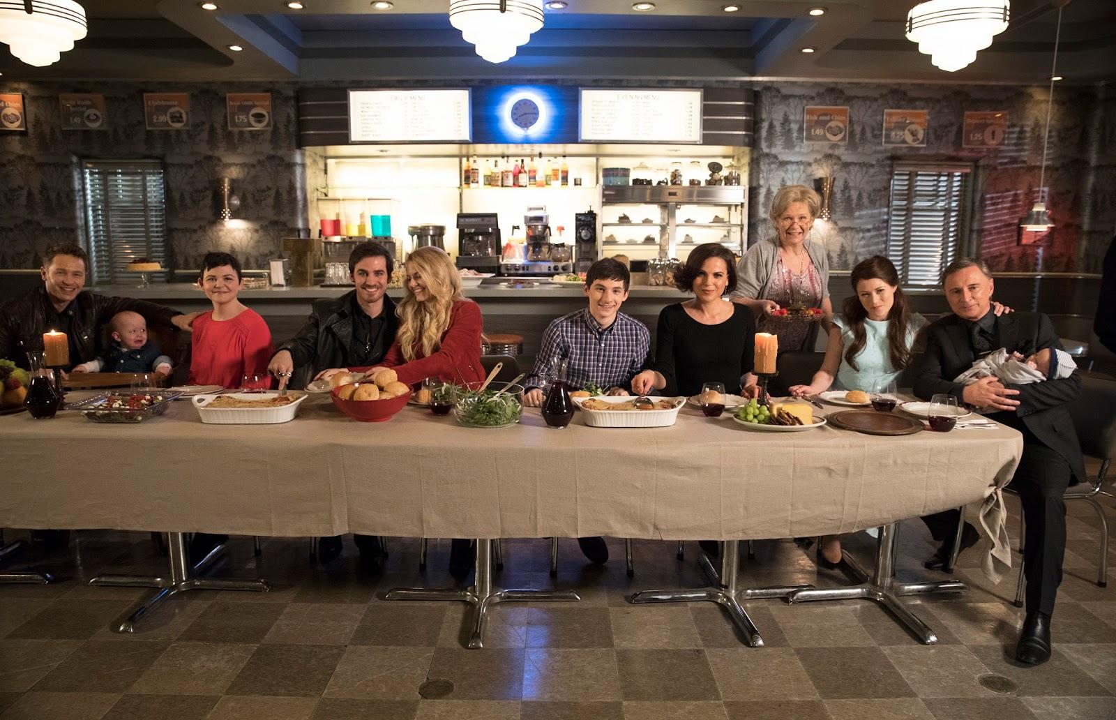Los héroes de Once Upon a Time cenan juntos en Grannys tras la batalla final