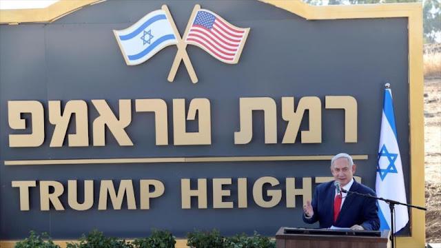 Netanyahu pone en marcha su plan para crear colonia Trump en Golán