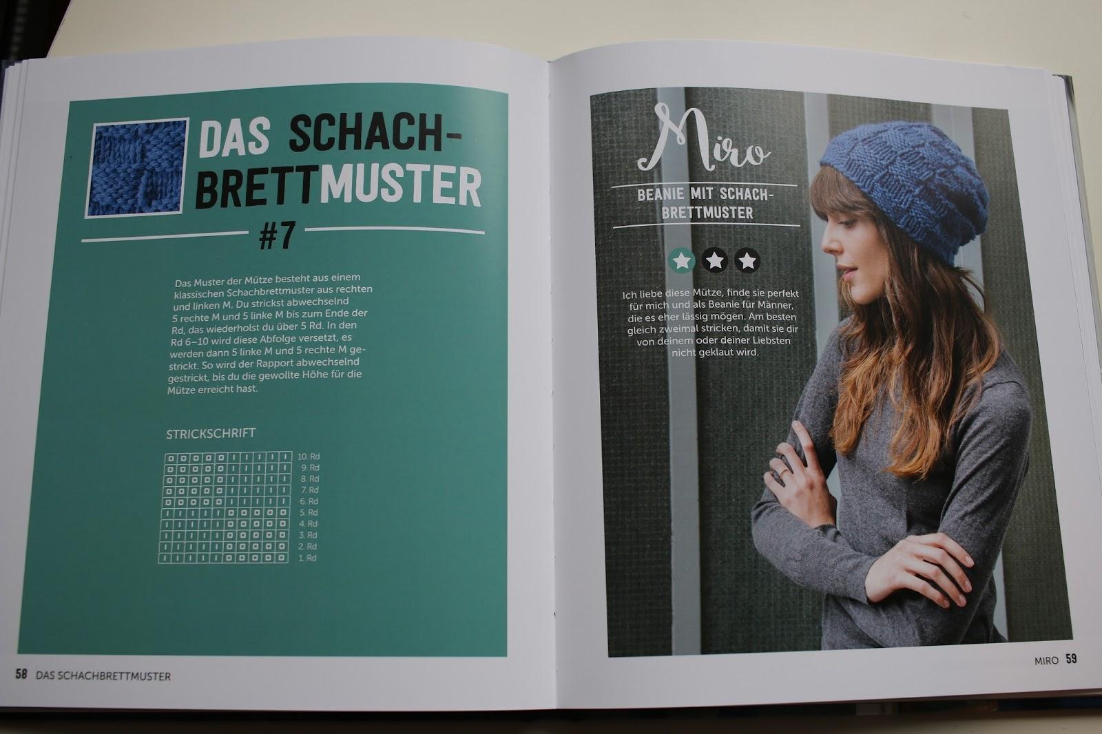 Krumme Naht: Ins Buch geschaut: Einfach Muster stricken von Miezi Berlin
