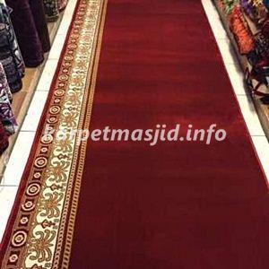 Harga Karpet Masjid Tebal Merah