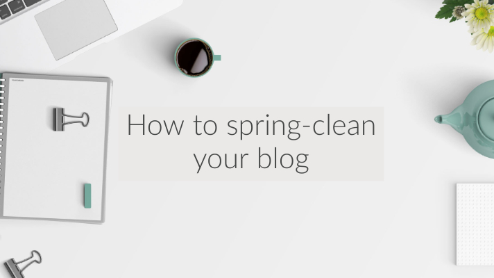 (spring-cleaning your blog)