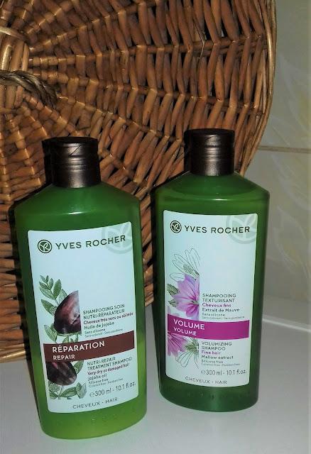 Yves rocher reparation szampon odbudowujący z olejkiem jojoba