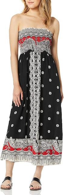 Gorgeous Strapless Smocked Maxi Dresses