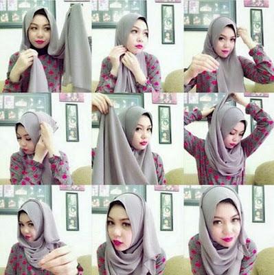 Pecinta Hijab Tutorial Hijab Anting Pompom