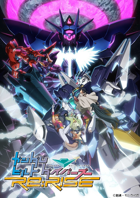 Imagen promocional del anime Gundam Build Divers Re: RISE