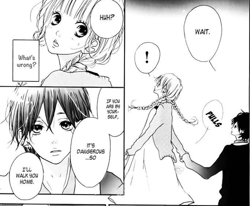 Older guy dating younger girl manga