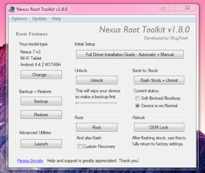 One Click Root Toolkit (Root Almost Any Android Device)