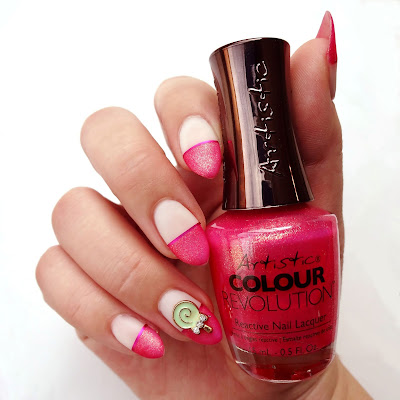 Pink Candy Nails