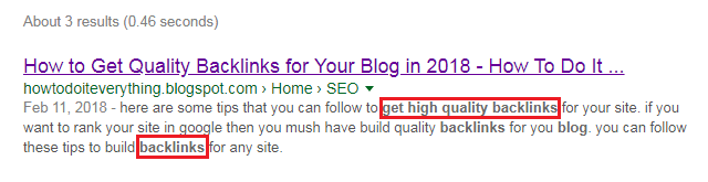 on page seo tip