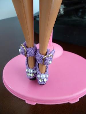 Crochê Para Barbie  Sapatinhos de crochê para Barbie com pedrarias  Por Pecunia MillioM