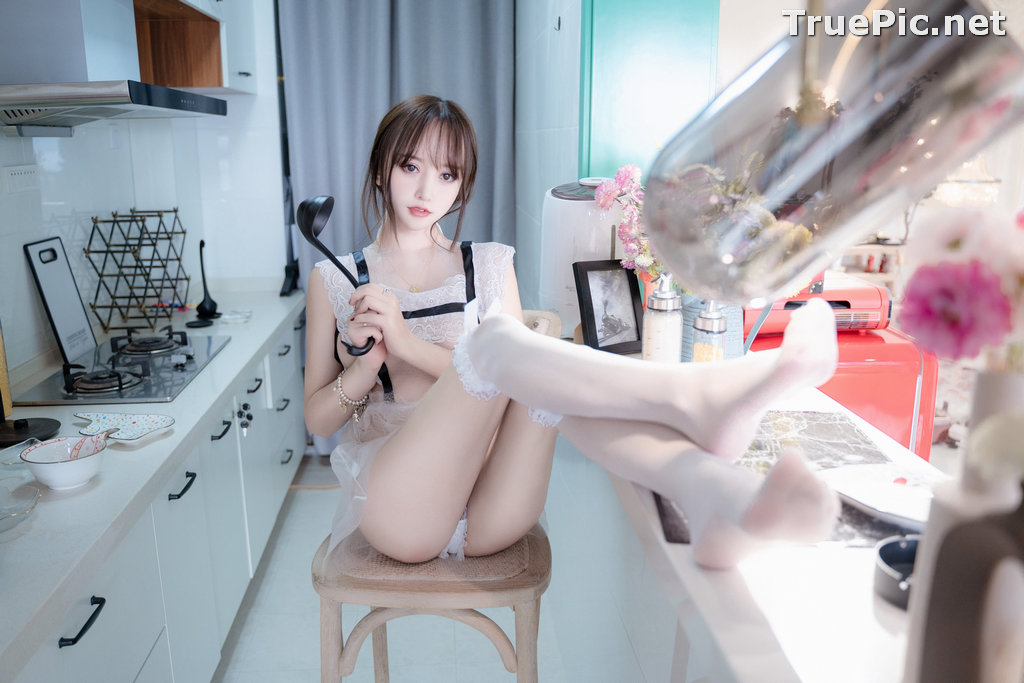 Image Chinese Model – 过期米线线喵 (米線線sama) – Sexy Housewife - TruePic.net - Picture-9