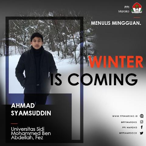Mingguan Menulis - Winter is Coming