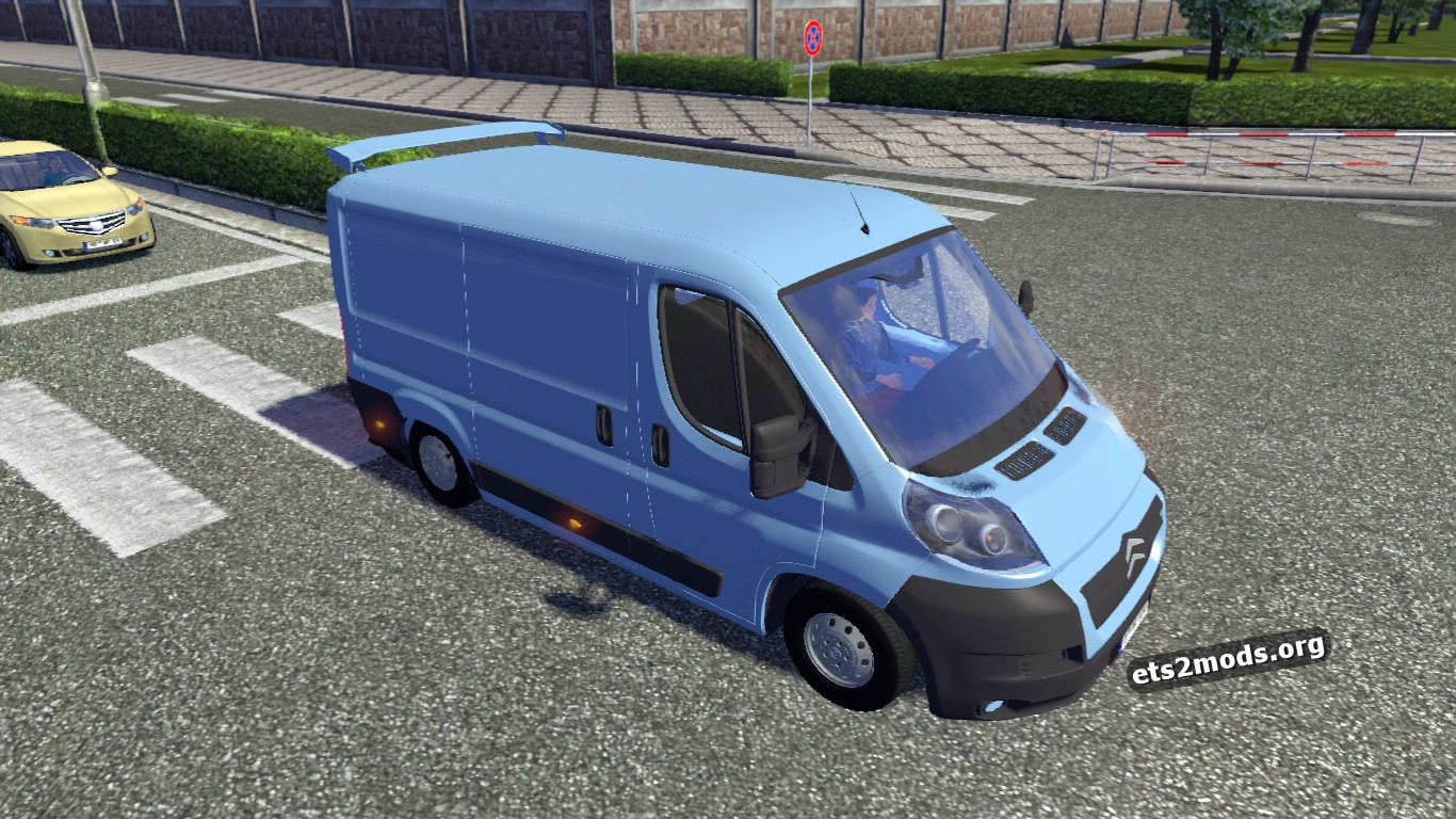 citro n jumper for ai traffic ets2 mods. Black Bedroom Furniture Sets. Home Design Ideas