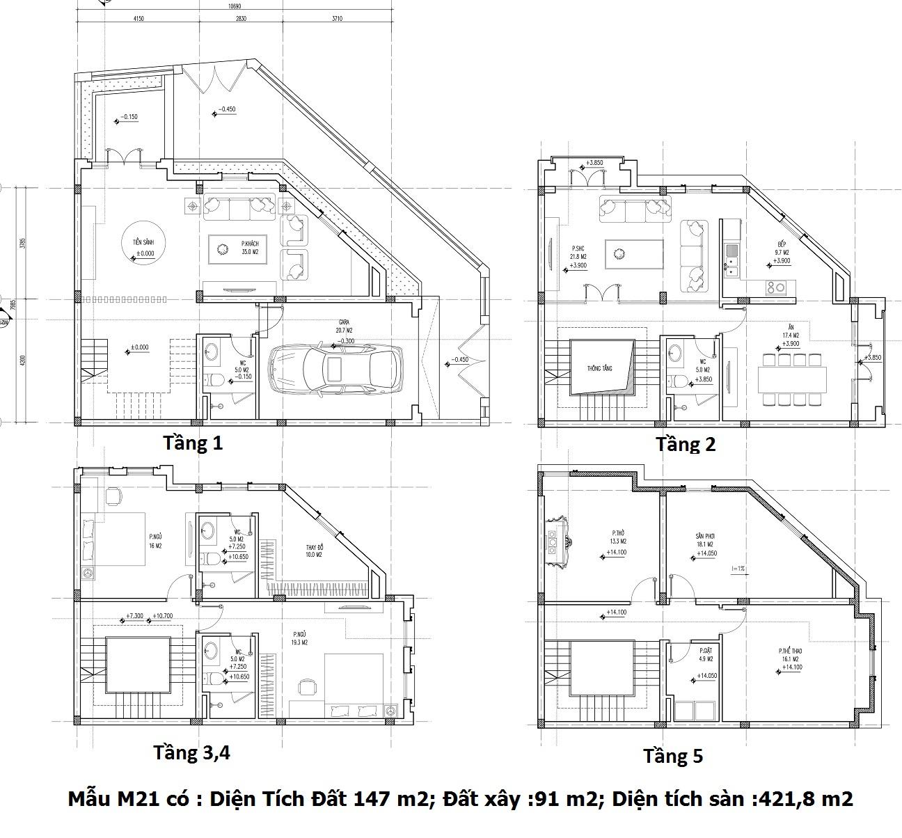Mẫu thiết kế M21