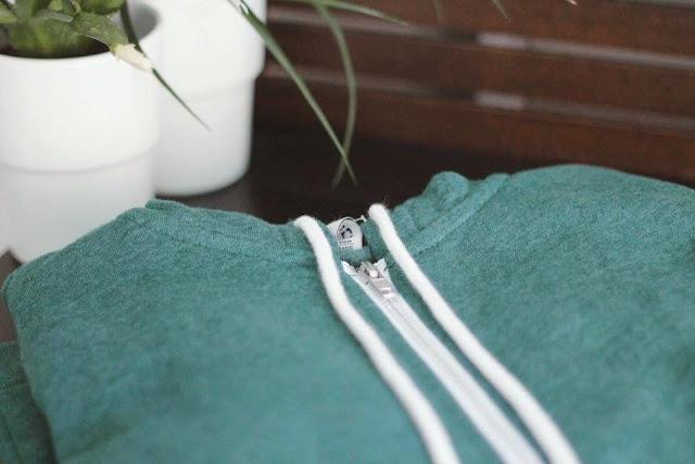 H&M-hoodie-green