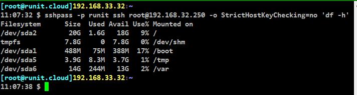 [LINUX] sshpass로 ssh 자동 로그인 및 원격 명령 실행하기
