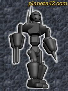 Melee Robot 3D