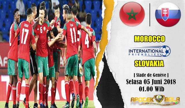 Prediksi Morocco vs Slovakia 5 Juni 2018