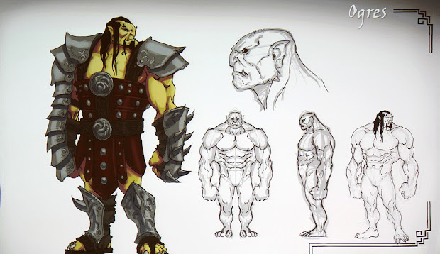 Dsng' Sci Fi Megaverse Exploring Dsng Part 24 - Concept Art Of Ogres And Book 14
