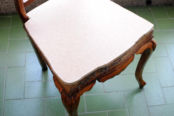 como transformar una silla antigua a moderna