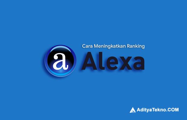 Cara Menaikkan Ranking Alexa pada Blog atau Website