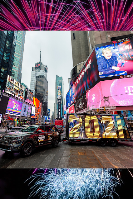 Kia Story Telling Machine Arrives in Times Square for New Years Eve