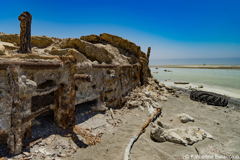 Crumbled Infrastructure Bombay Beach Salton Sea Ghost Towns Photography