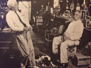 Early 20th century photo of Ernest Coe and Ted Smallwood from Man in the Everglades book