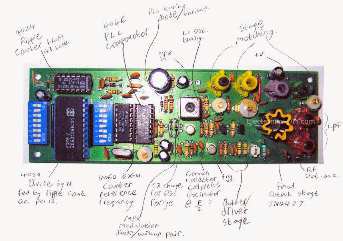 Fm Transmitter 1 Watt 1w High Power Fm Transmitter Circuit Board Radio