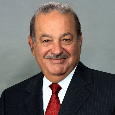 Carlos Slim Helu & family: $64 Billion