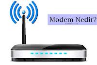 Modem Fotoğrafı