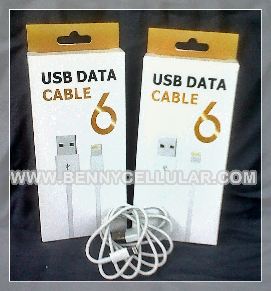 KABEL DATA IPHONE 5/6 pack ORI